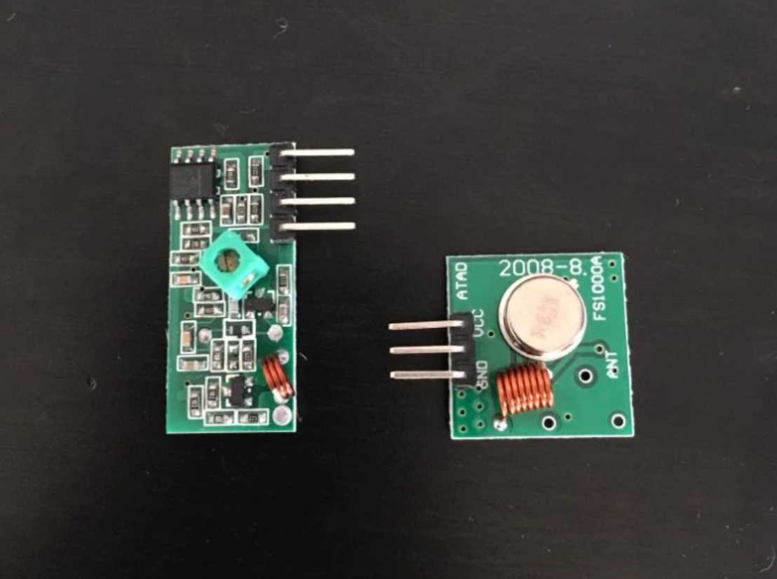 Модуль для беспроводного управления 433 МГц