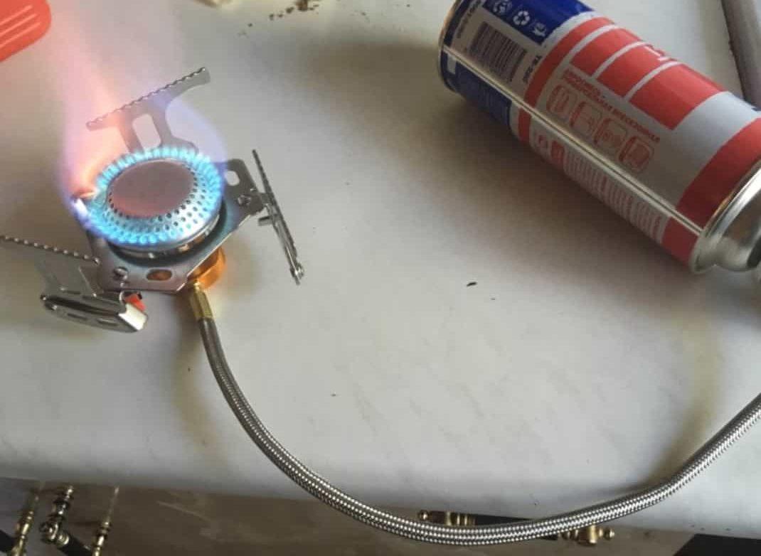 Походная газовая горелка Widesea