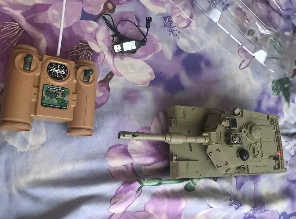 Радиоуправляемый танк GizmoVine