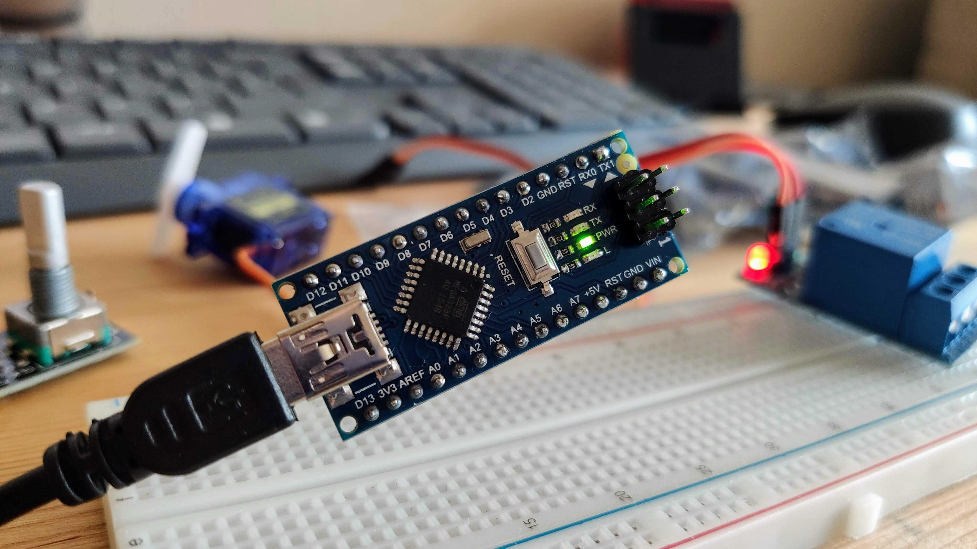 Самый дешёвый Arduino Nano