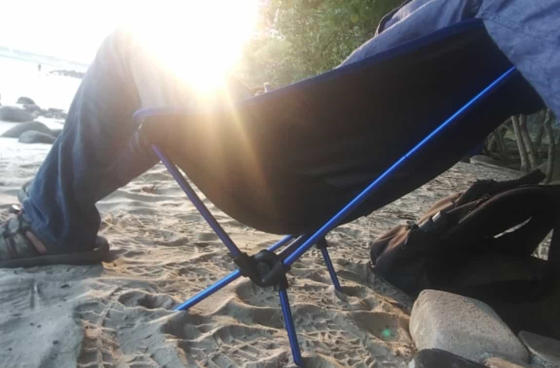 Туристический складной стул