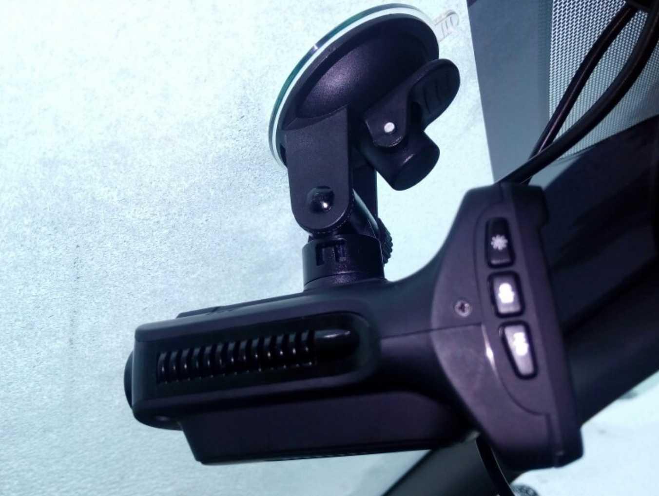 Видеорегистратор + радар-детектор