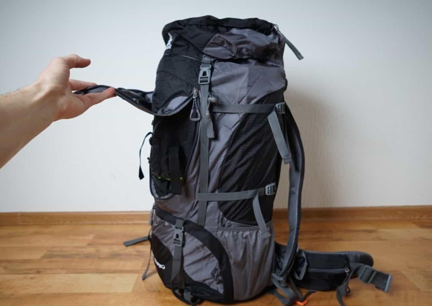 Вместительный походный рюкзак на 80 л