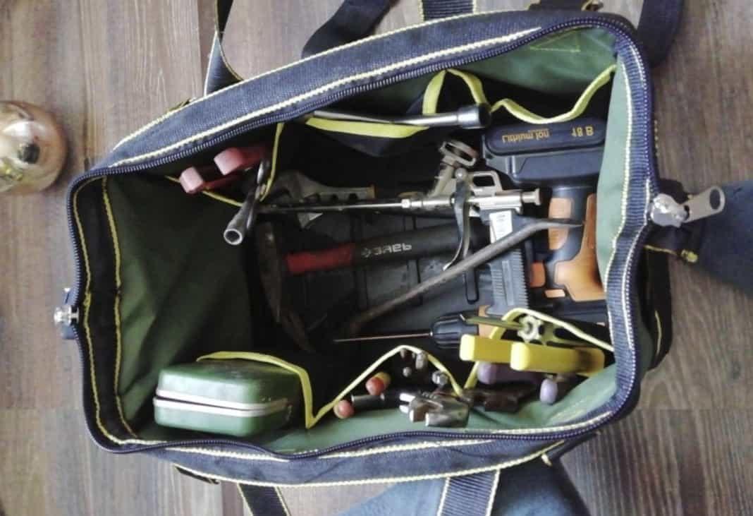 Функциональная сумка для инструментов