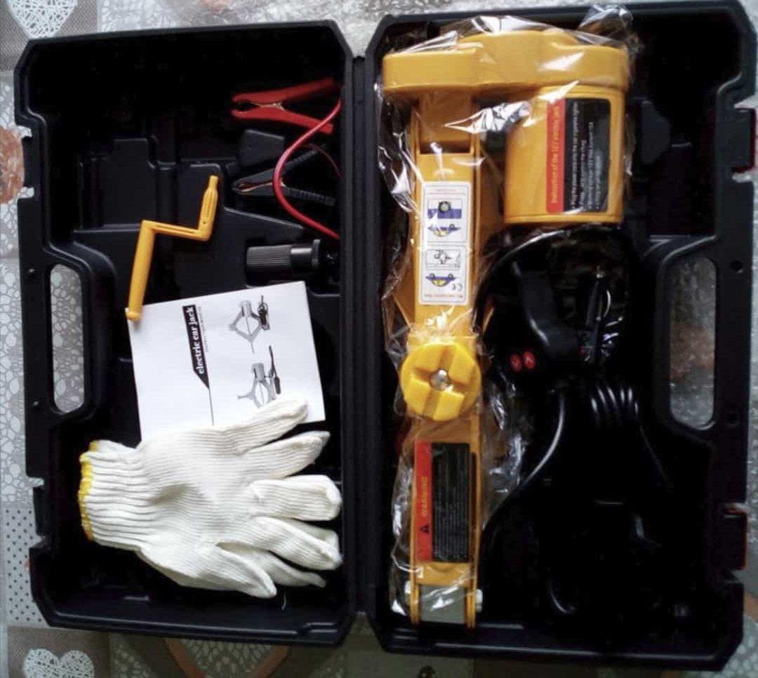 Электродомкрат от прикуривателя