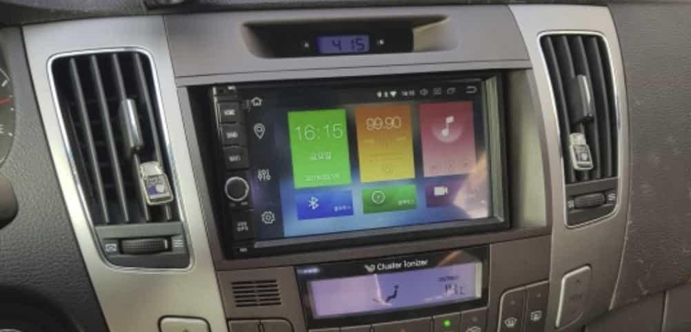 Навороченная магнитола на Android 9