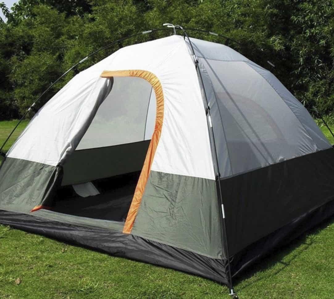 Недорогая 3-х местная палатка