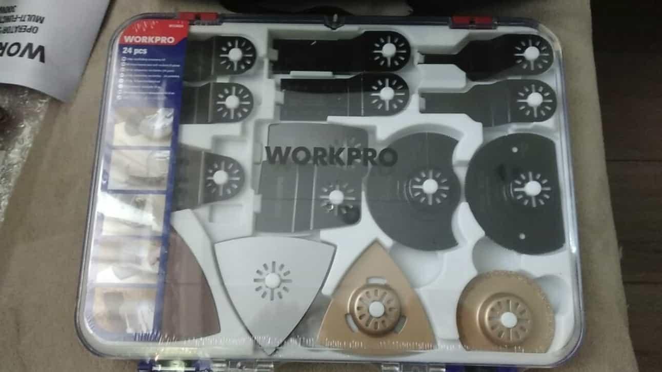 Осциллирующий инструмент WORKPRO
