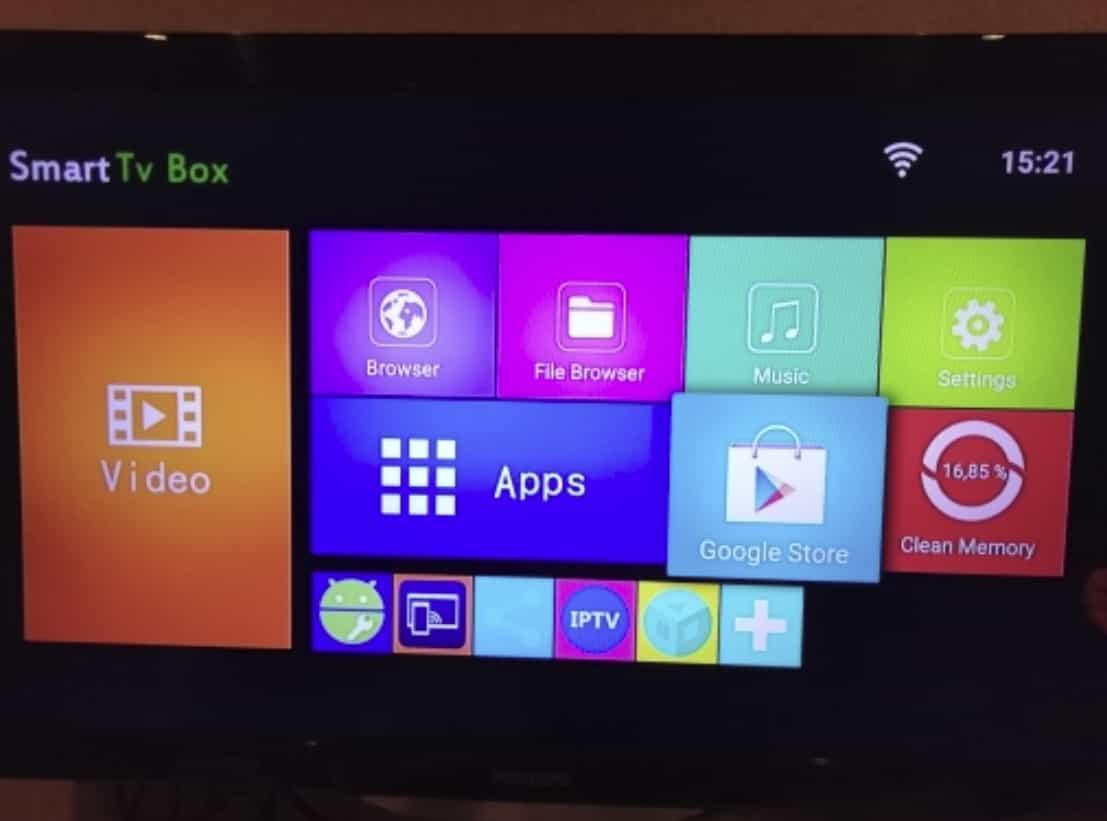 Смарт ТВ приставка на Android