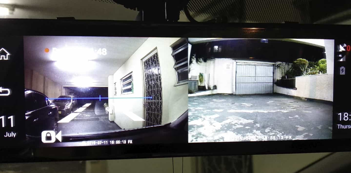 Видеорегистратор в виде зеркала Junsun A930