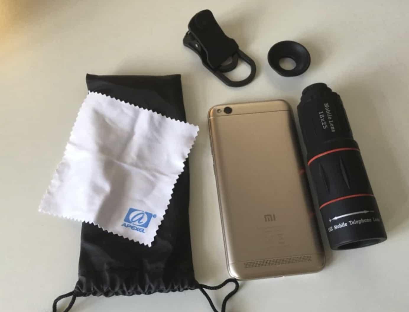 18 кратный объектив для смартфона