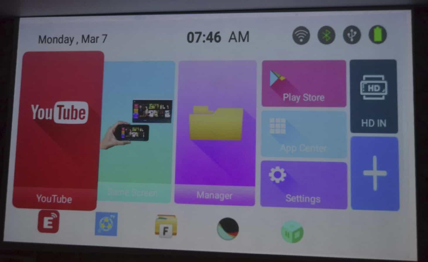 Мини проектор на Android - SmartIdea X2