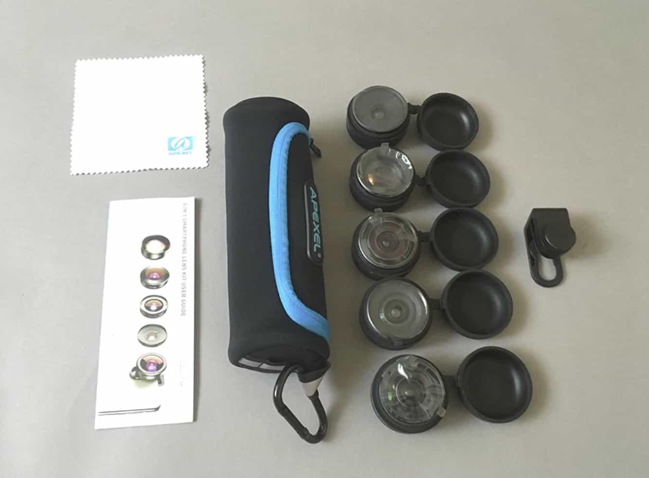 Набор сменных объективов для смартфона