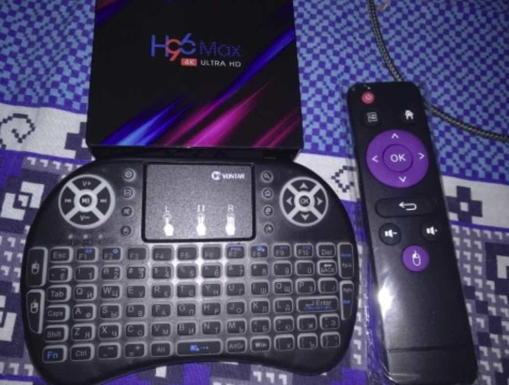 Смарт ТВ приставка Vontar H96
