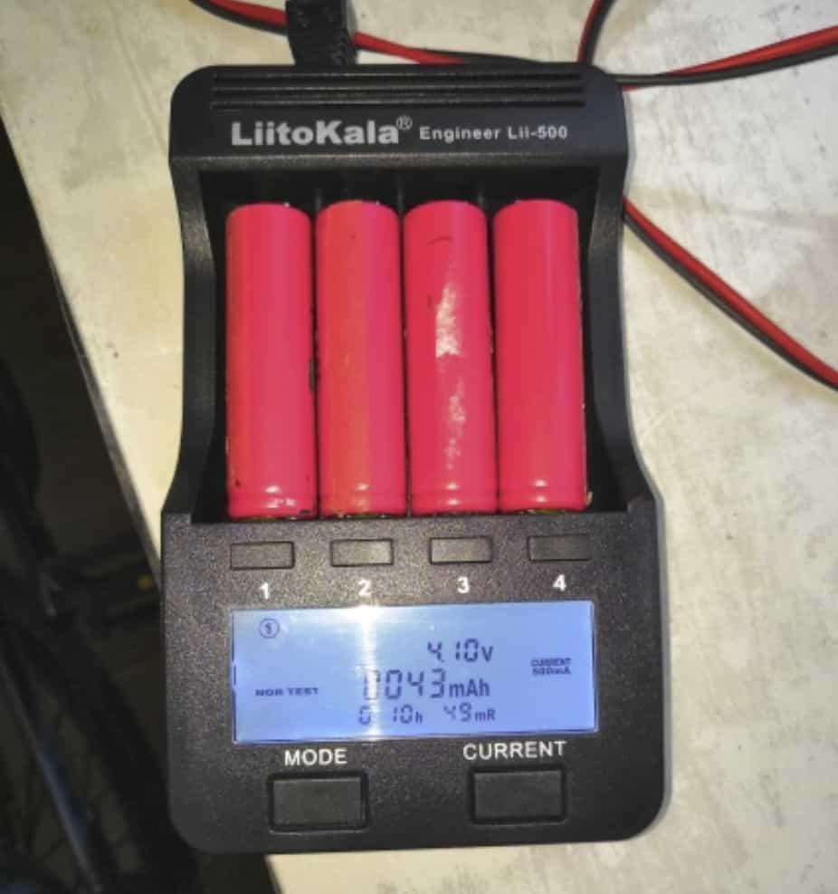 Зарядное устройство Liitokala