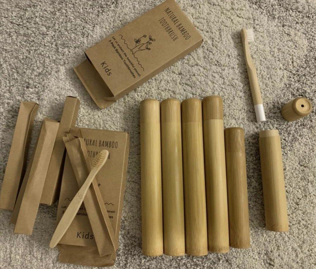 Бамбуковый чехол для зубной щетки