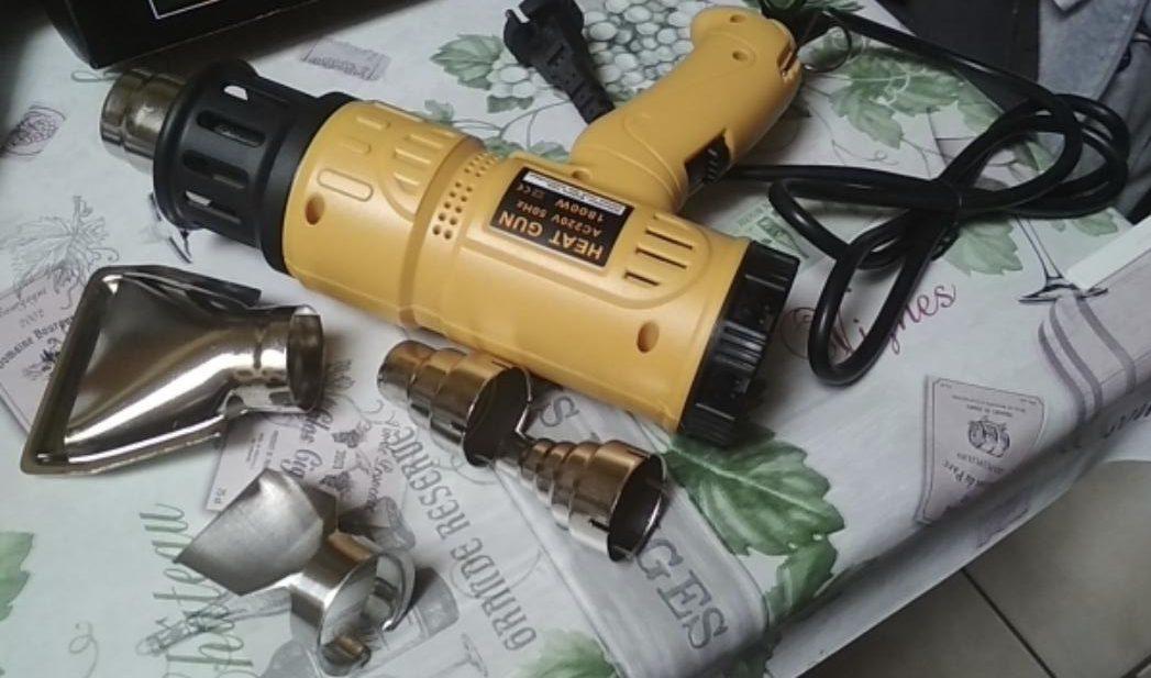 Строительный фен KKmoon на 1.8 кВт