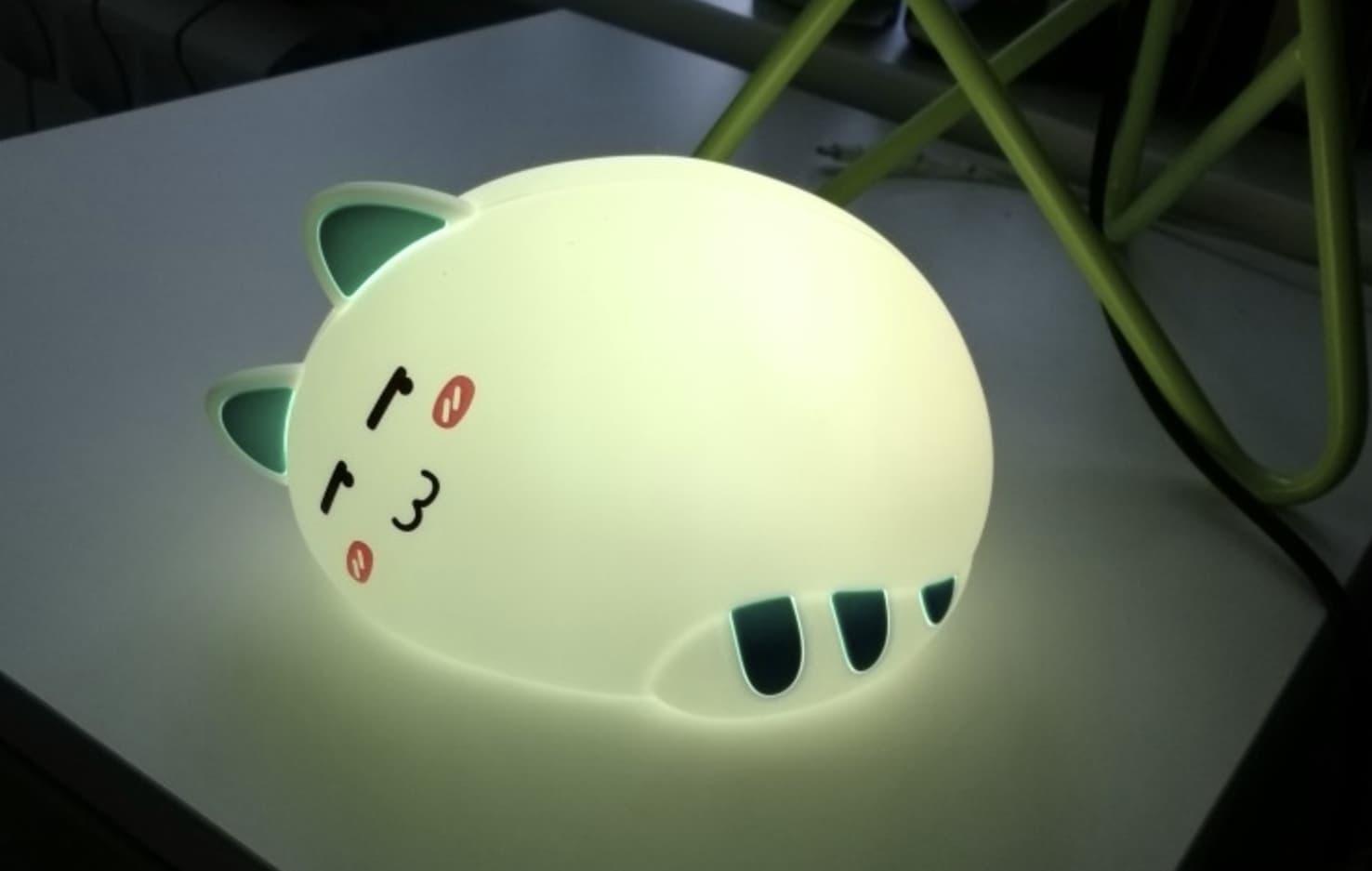 Портативный светодиодный светильник в виде котика
