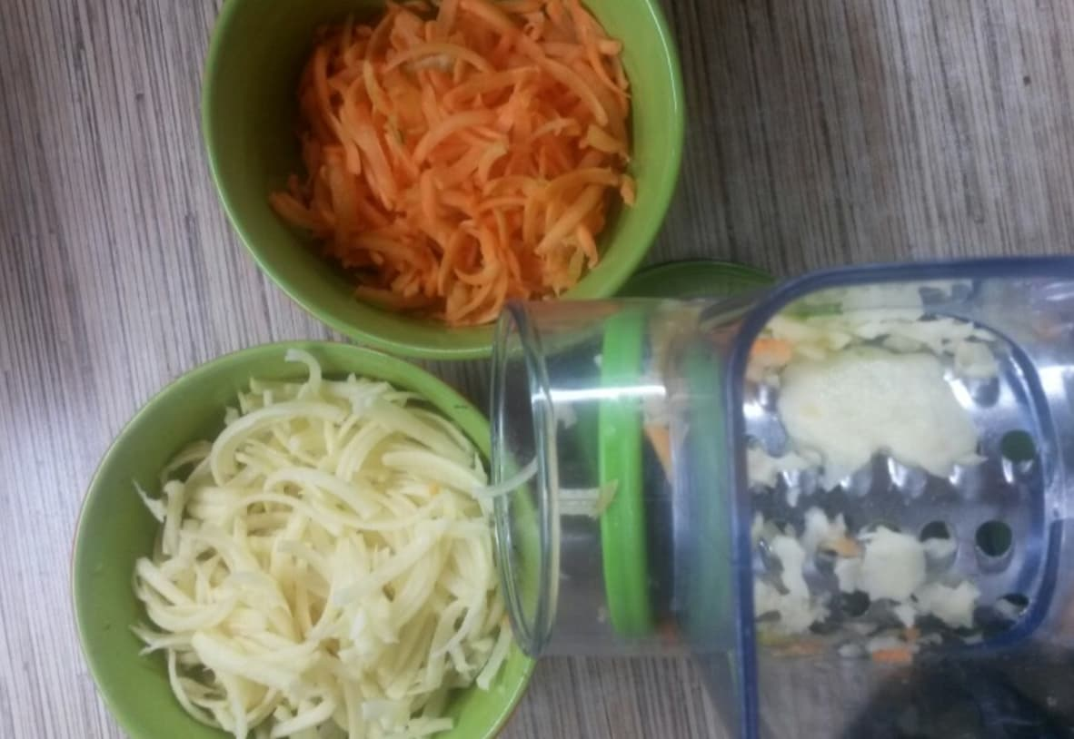 Навороченная тёрка для овощей