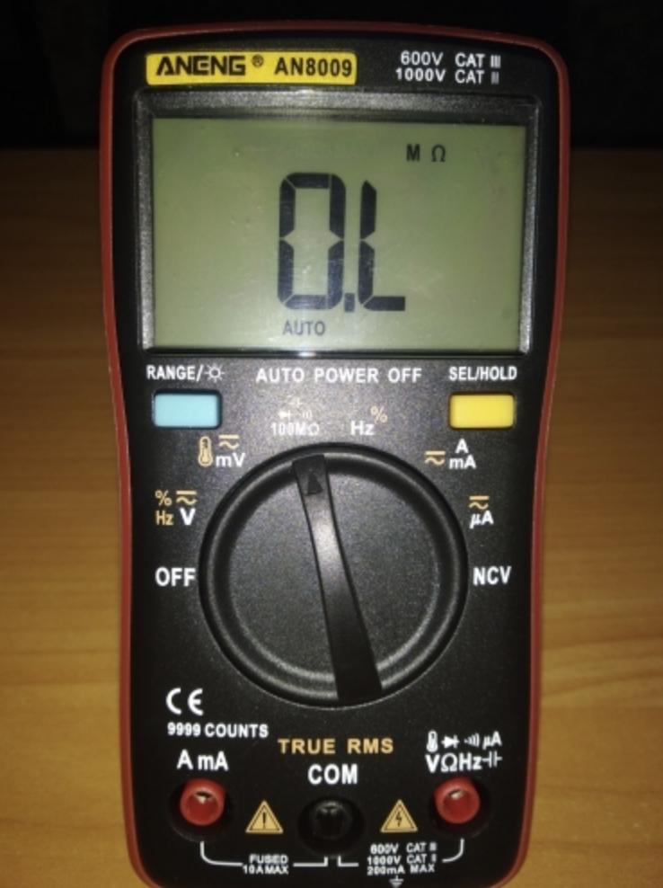 Мультиметр ANENG