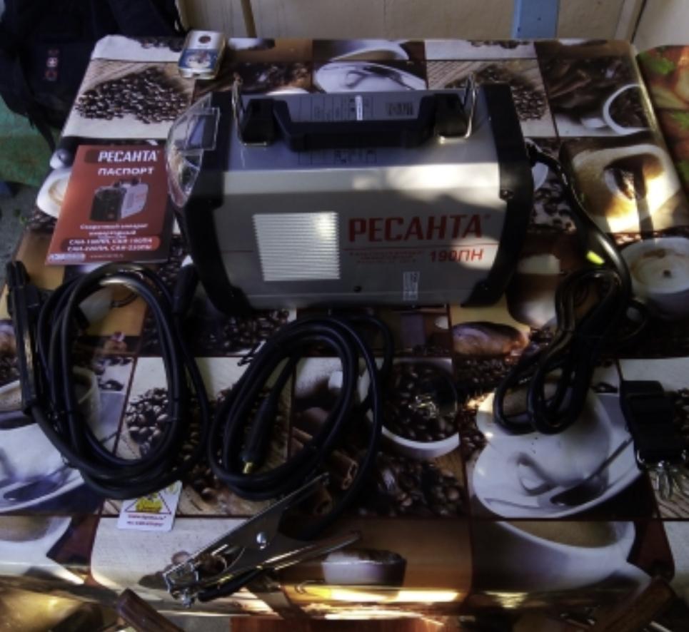 Сварочный аппарат Ресанта