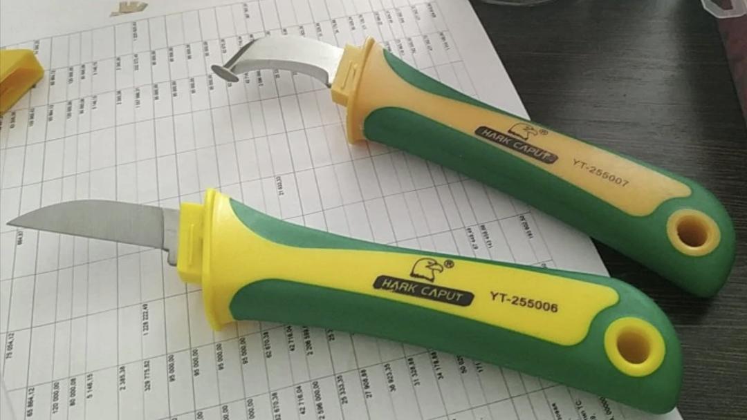 Нож для очистки кабелей