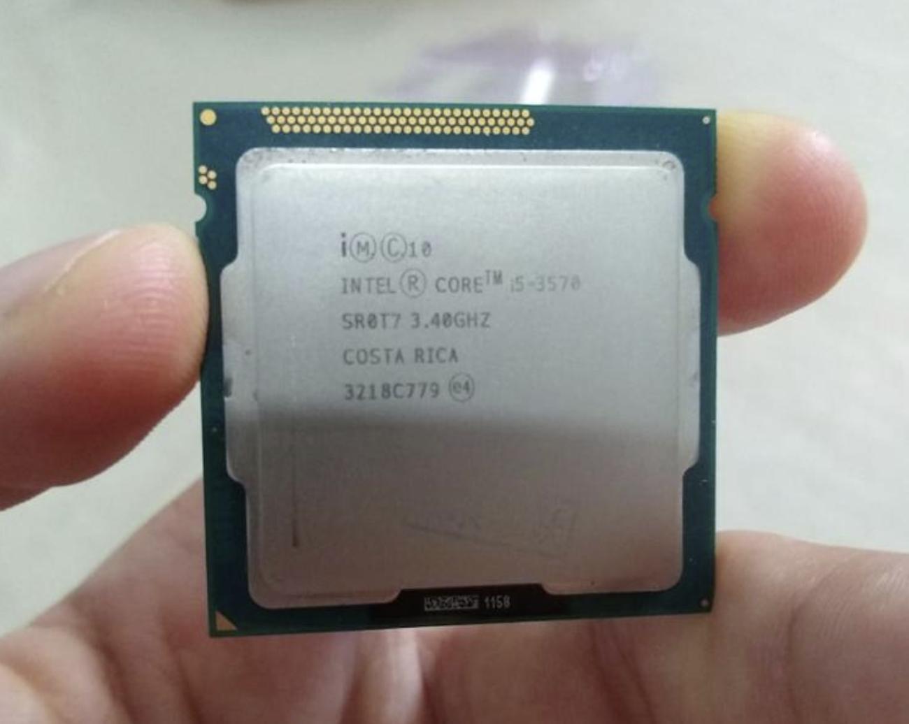 Процессор i5-3570 на сокете LGA1155