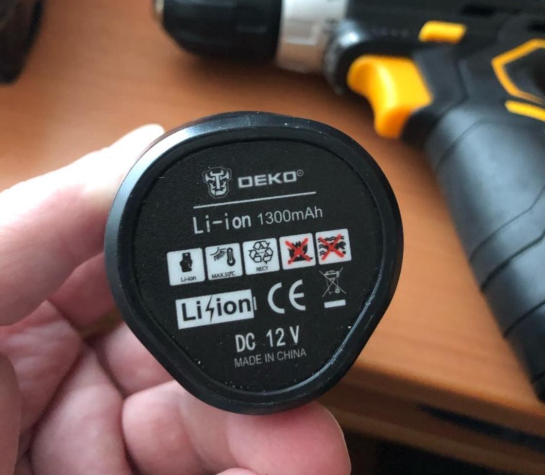 Электрическая отвертка DEKO