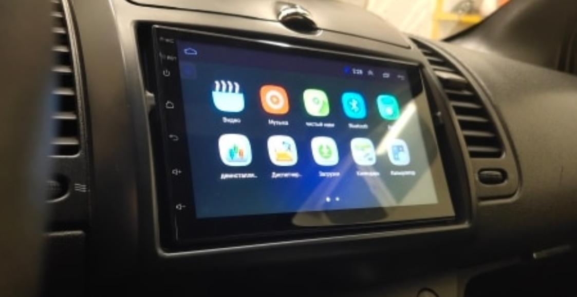 Универсальная магнитола с камерой на Android