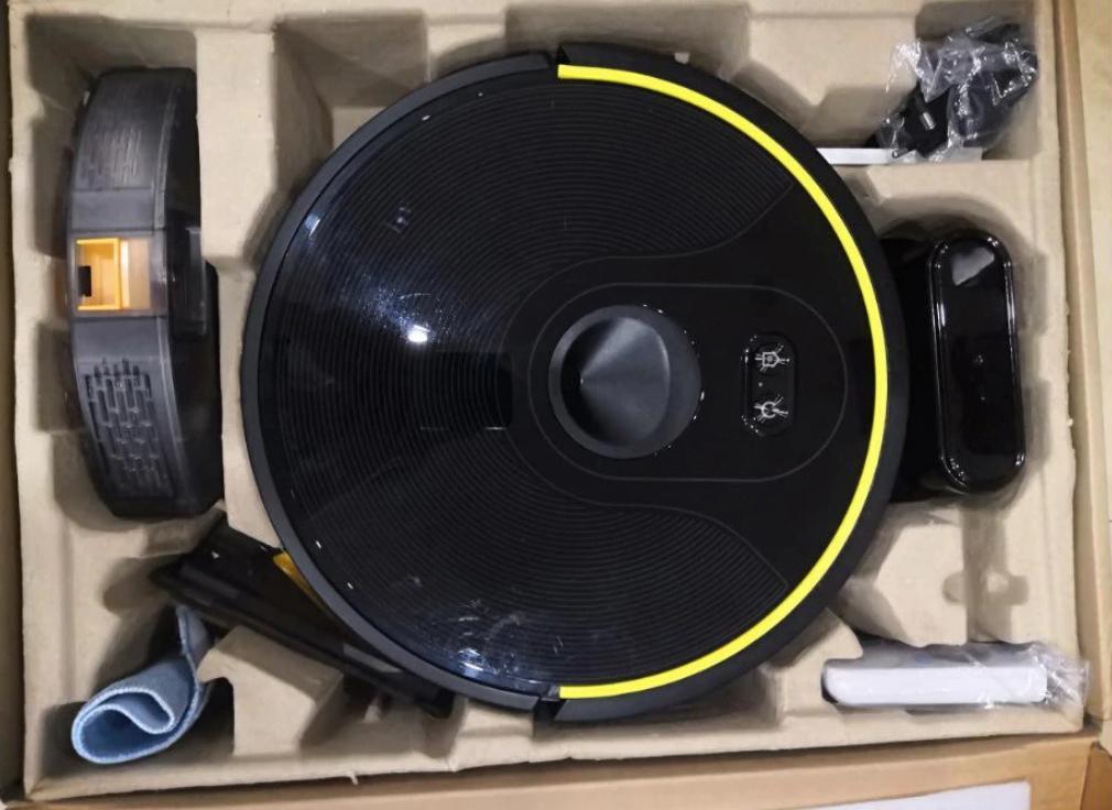 Навороченный робот пылесос Abir X6 с функцией полотёра