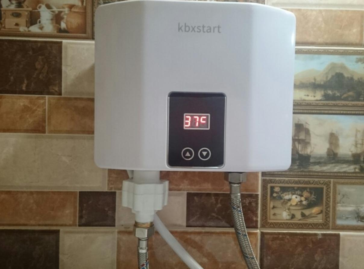 Проточный водонагреватель Kbxstart на 5.5 кВт