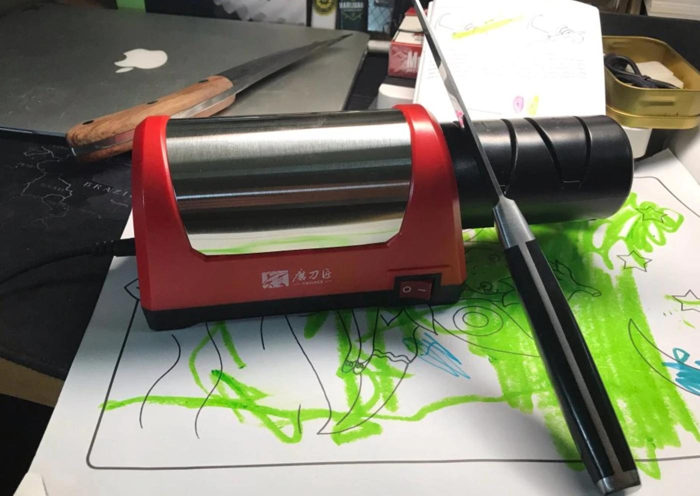 Электронная точилка для всех видов ножей