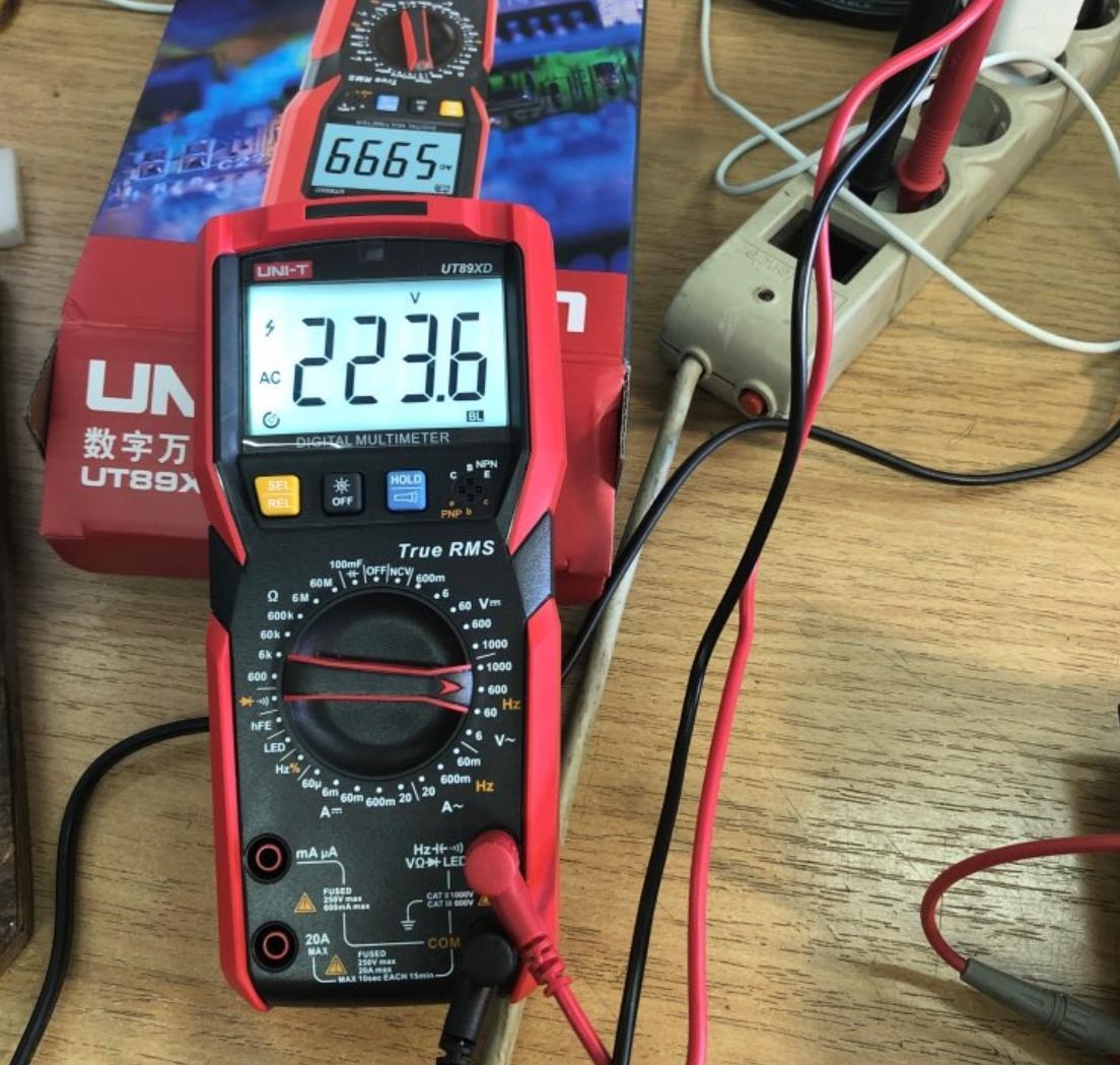 Профессиональный мультиметр UNI-T