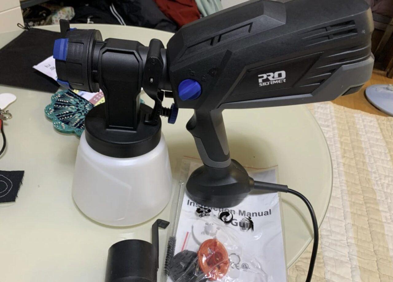 Распылитель краски Prostormer HVLP (краскопульт)
