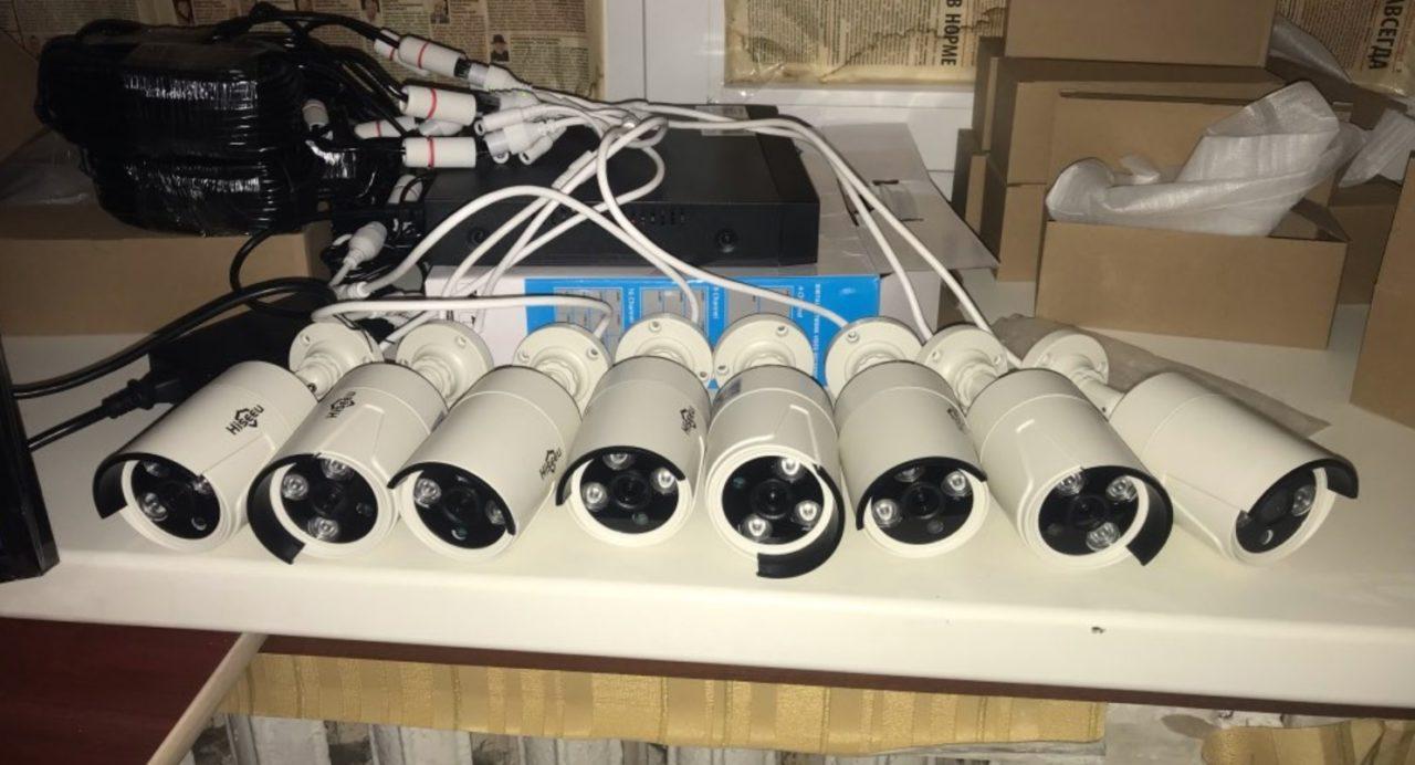 Готовый комплект видеонаблюдения Hiseeu