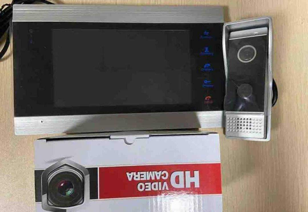 Видеодомофон Jeatone с пультом управления
