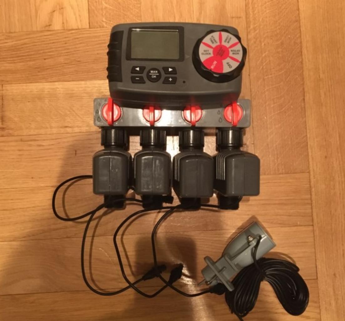 Электронный клапан Aqualin для автоматического полива