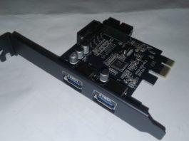Недорогая плата расширения USB 3.0