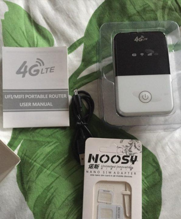 Портативный WI-Fi роутер TIANJIE с поддержкой 4G