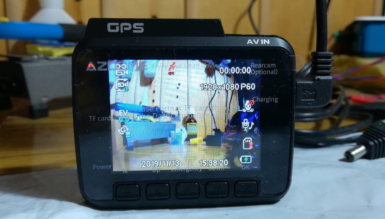 Видеорегистратор AZDOME с поддержкой 4K
