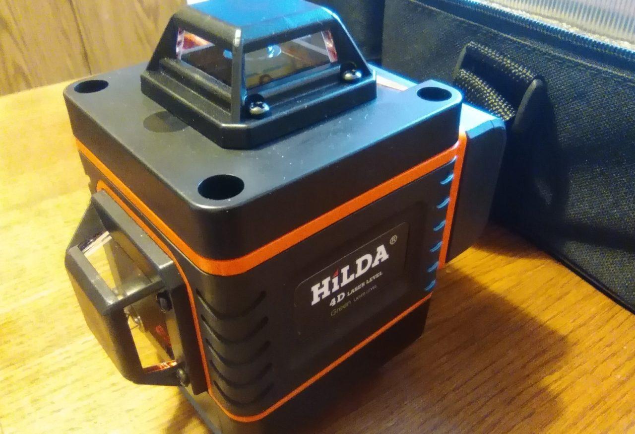 4D-лазерный уровень Hilda