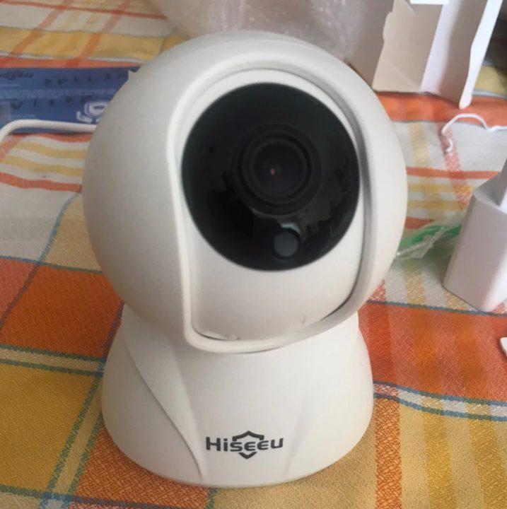 Поворотная камера Hiseeu для видеонаблюдения