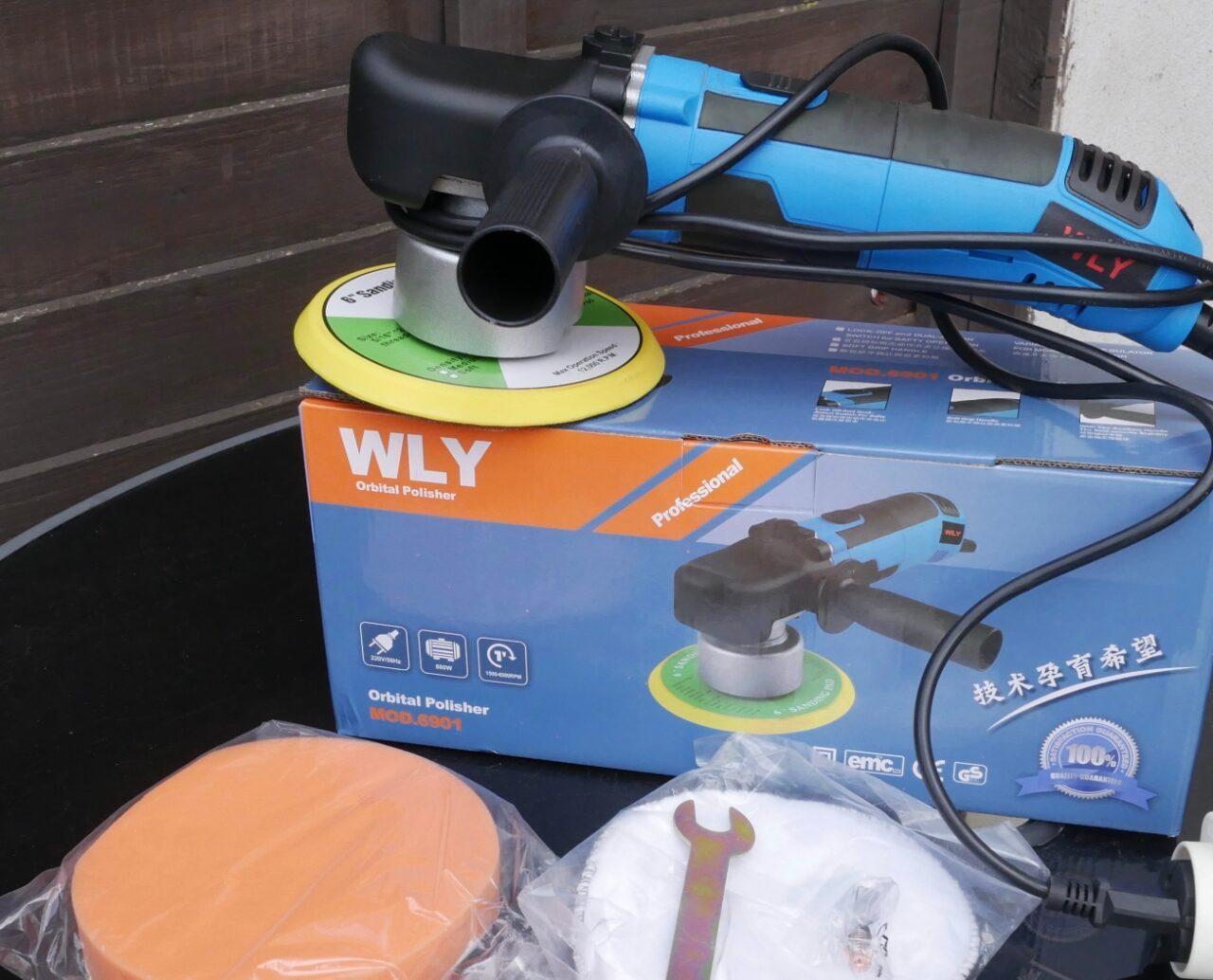 Шлифовальная машина WLY