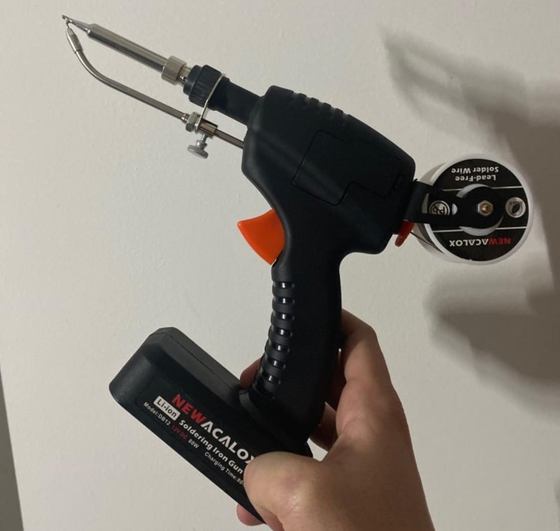 Паяльник NEWACALOX с автоматической подачей олова