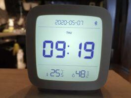 Цифровой будильник Cleargrass