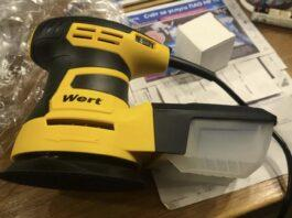 Электрическая шлифовальная машина Wert