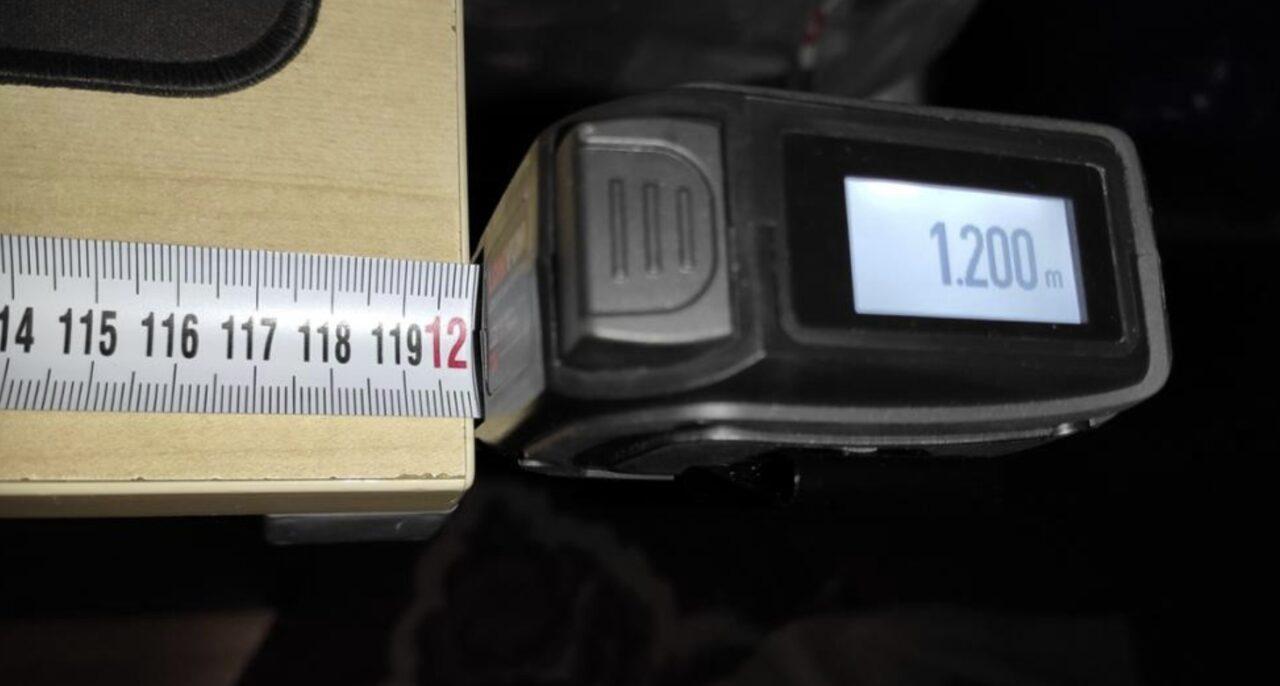 Рулетка с лазерным дальномером Lomvum