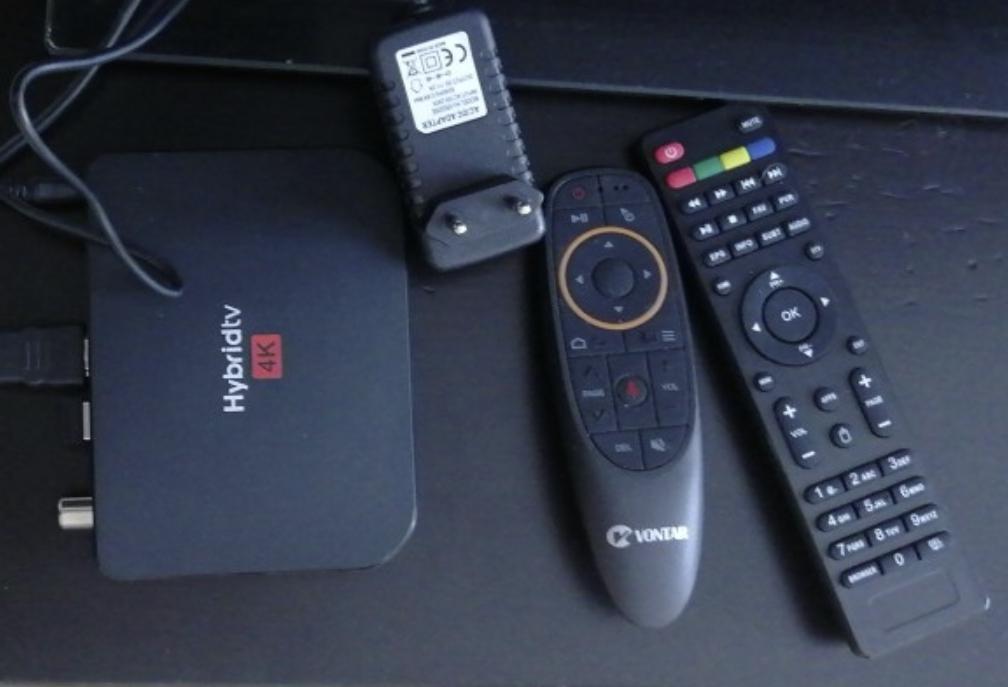 Смарт-ТВ приставка Mecool M8S PLUS с поддержкой цифрового ТВ