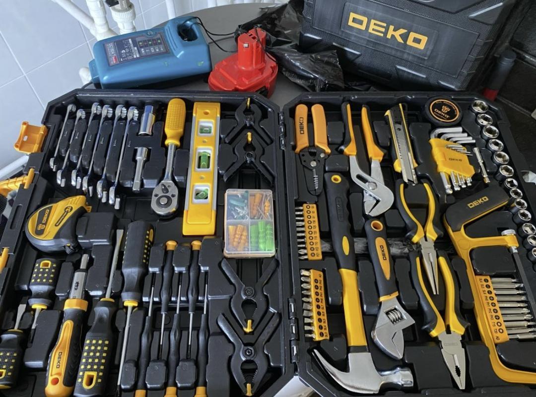 Набор качественных инструментов DEKO