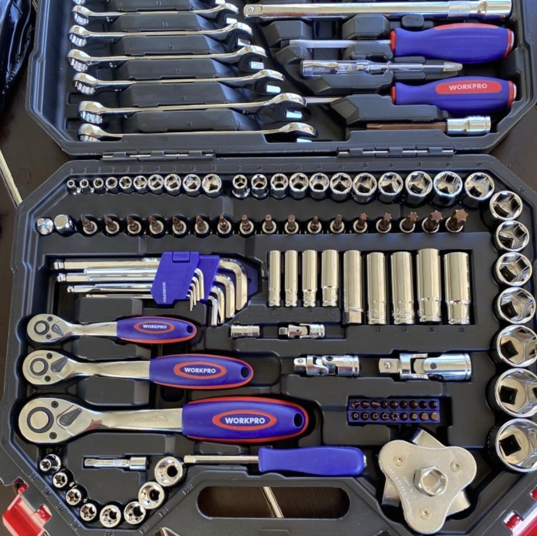 Набор качественных инструментов Workpro